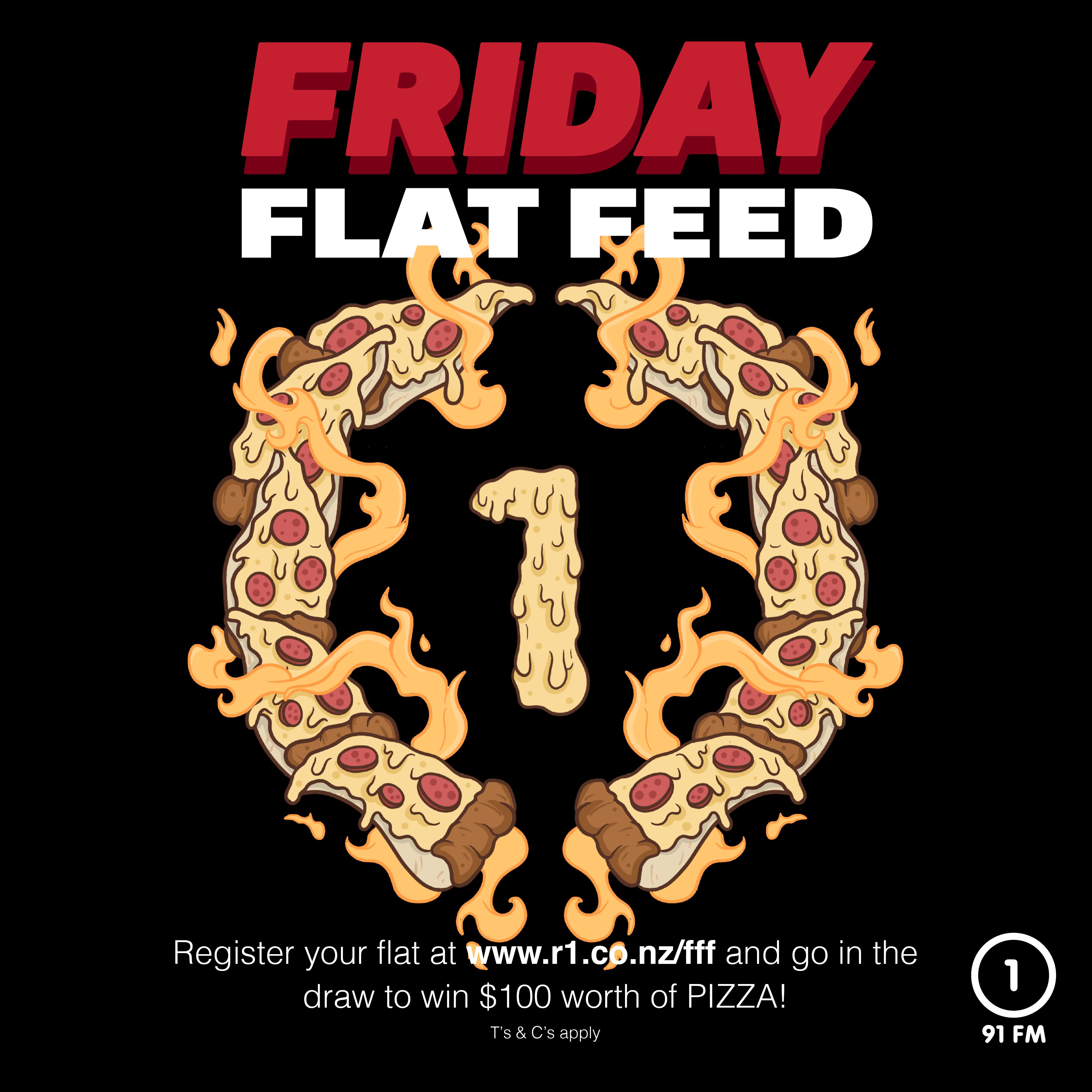 Friday Flat Feed.