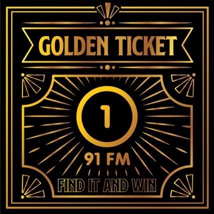 Radio One Golden Ticket.