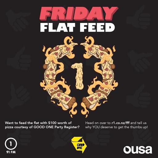 Radio One Friday Flat Feed.