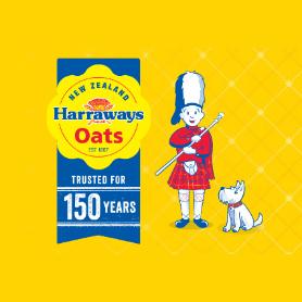 Radio One Harraways Oat Singles Breakfast.