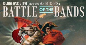 OUSA Battle of the Bands 2018.
