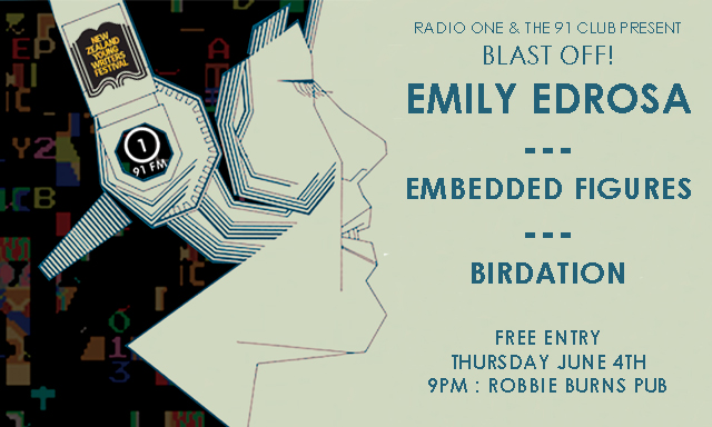 The 91 Club presents: Blast Off! w./ Emily Edrosa, Embedded Figures and Birdation