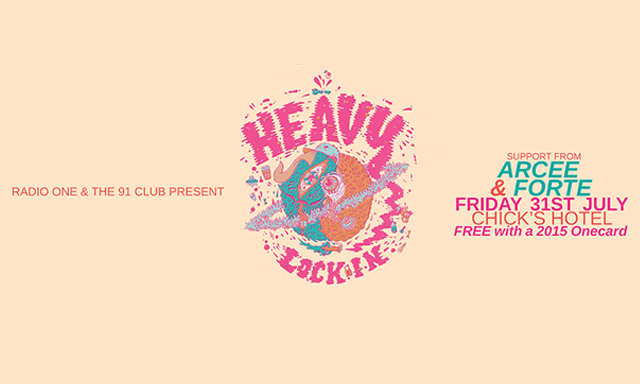 The 91 Club presents: HEAVY, Arcee, and DJ Forte