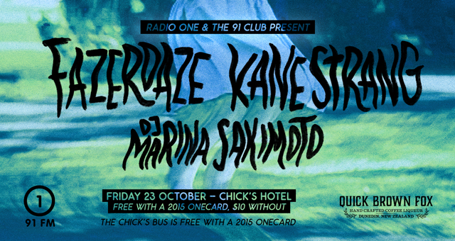 The 91 Club presents: Fazerdaze, Kane Strang, and DJ Marina Sakimoto